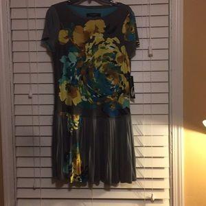 Nine West floral print dress
